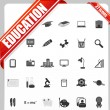 Stock Vector: education icon