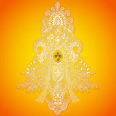 Durga puja — Vecteur