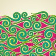 Colorful Swirls - Stock Vector