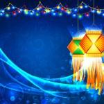 Diwali Hanging Lantern — Stock Vector #13558423