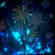 Colorful Firework - Stock Vector