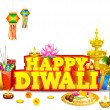 Royalty-Free Stock Vektorfiler: Diwali Background