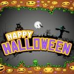Halloween Doodle — Stock Vector #13659829