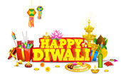 Diwali Background — Vetorial Stock