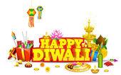 Diwali bakgrund — Stockvektor