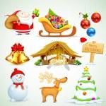 Christmas Object — Stock Vector