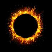 Círculo de fuego — Vector de stock