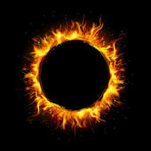 Kruh ohně — Stock vektor