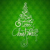 Feliz navidad — Vector de stock