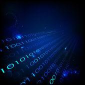 Binaire achtergrond — Stockvector