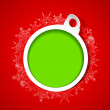 Royalty-Free Stock Imagen vectorial: Snowflakes Christmas Bauble