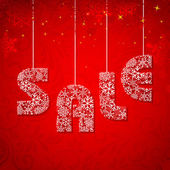 Christmas Sale — Stock Vector