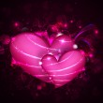 Shiny Valentine Heart — Stock Vector
