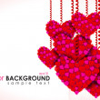Vector de stock : Love Background