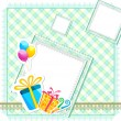 Royalty-Free Stock Immagine Vettoriale: Birthday Card