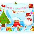 Royalty-Free Stock Vector Image: Christmas Card