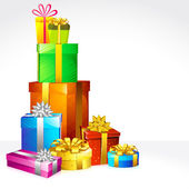 Kutlama için hediye kutusu — Stok Vektör