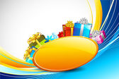 Colorful Gifts — Stockvector