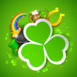 Saint Patrick&#039;s Day Background - Imagens vectoriais em stock
