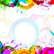 Colorful Grunge — Vector de stock #22222835