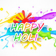 Stock Vector: Holi Background