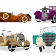 Vintage Car - Imagen vectorial