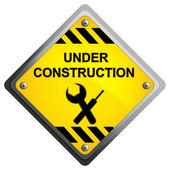 Under Construction Icon — Stock Vector