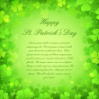 Saint Patrick&#039;s Day Background - Stock Vector