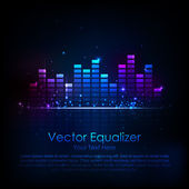 Music Equaliser — Stock Vector
