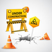 Under Construction Background — Stockvector