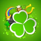 Saint Patrick's Day Background — Stock Vector