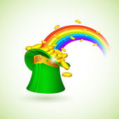 Saint Patrick's Hat — Stock Vector