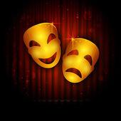 Entertainment Theatre — Stock Vector
