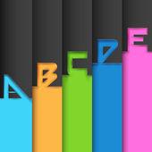 Banner infografía opciones — Vector de stock