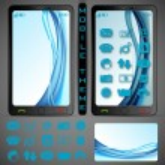 Mobilephone Theme — Stock Vector #25259149