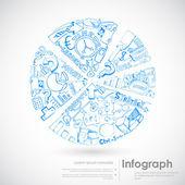 Dibujo gráfico — Vector de stock