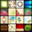 Vector Background Collection - Stock Vector