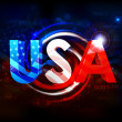 Abstract American Flag Background — Stock Vector #26298443