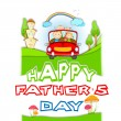 Happy Father's Day - Image vectorielle
