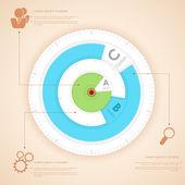 Infographics Chart — Stock Vector