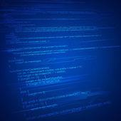 Html codificação fundo — Vetor de Stock