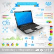 Technology Infographic — Stock Vector #27392357