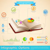 Education Infographic — Stock Vector