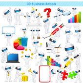 3d-zakenman in volledig scalable vector — Stockvector