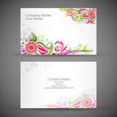 Corporate Business Card — Stock Vector