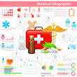 Healthcare and Medical Infographic — Stock Vector