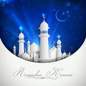 Eid mubarak achtergrond — Stockvector