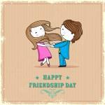 Happy Friendship Day — Stock Vector
