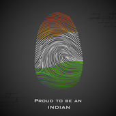 Proud to be an Indian — Stock Vector