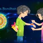 Raksha Bandhan — Stock Vector